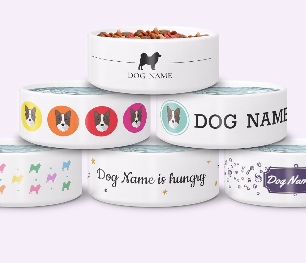 Personalized Dog Bowls
