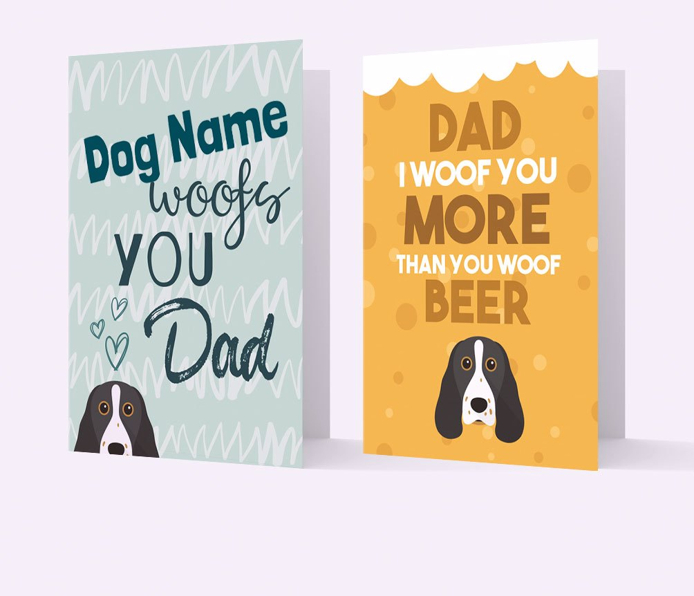 Personalised Cards for Dog Dads