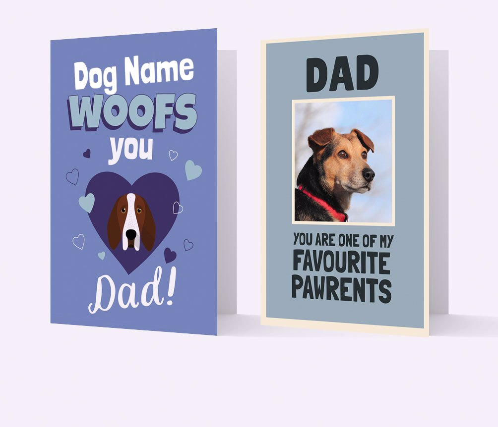 Fathers Day Cards for Dog Dads