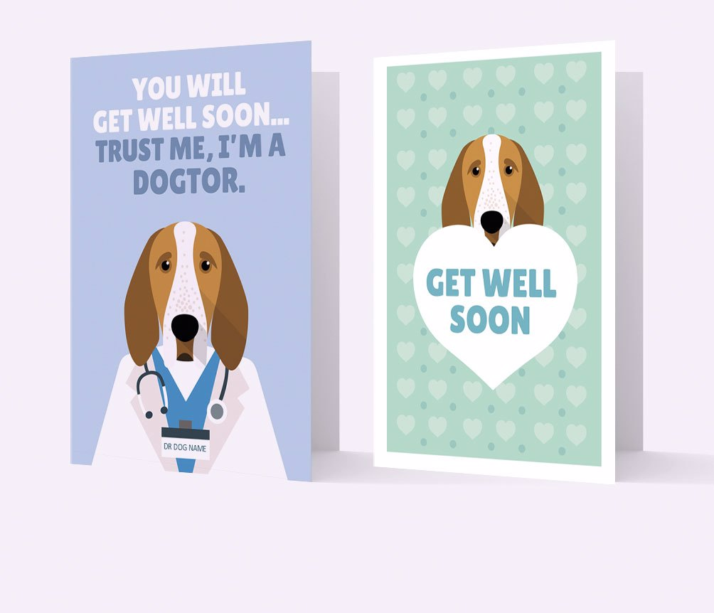 Personalised Get Well Soon Cards
