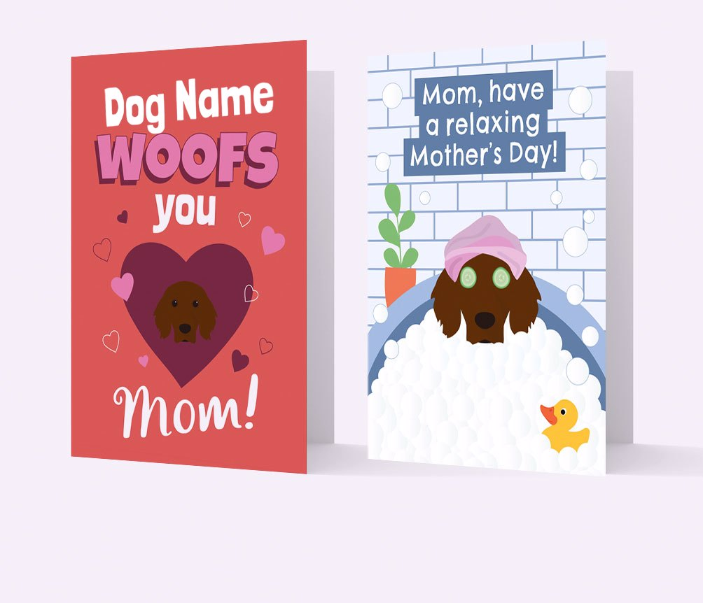 Personalised Mother's Day Cards