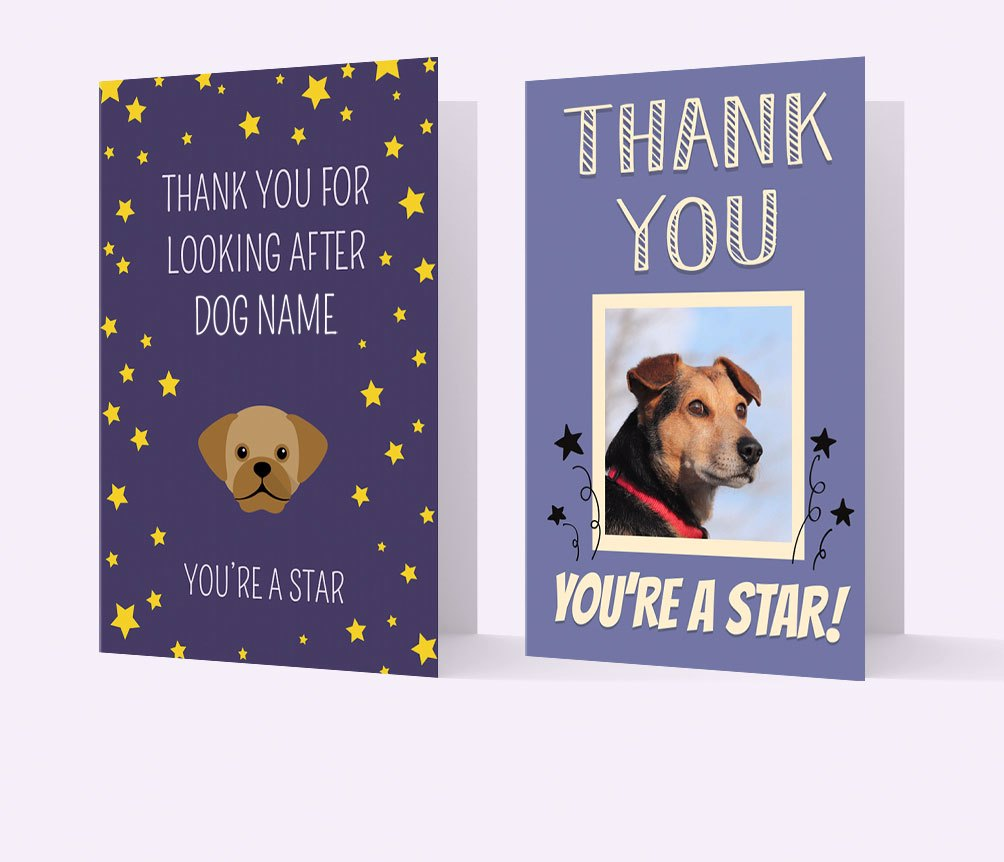 Personalised Thank You Cards