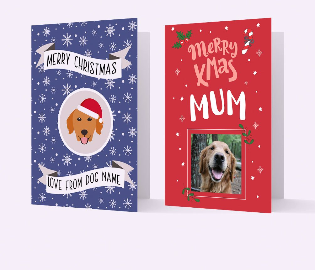 Personalised Christmas Cards for Dogs