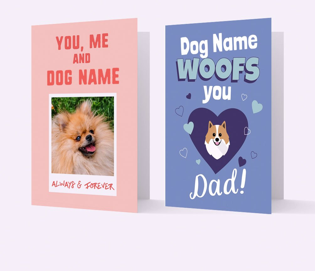 Valentine's Day Dog Cards