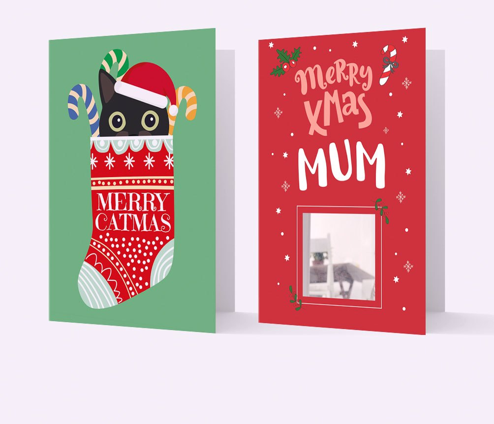 Christmas Cat Cards