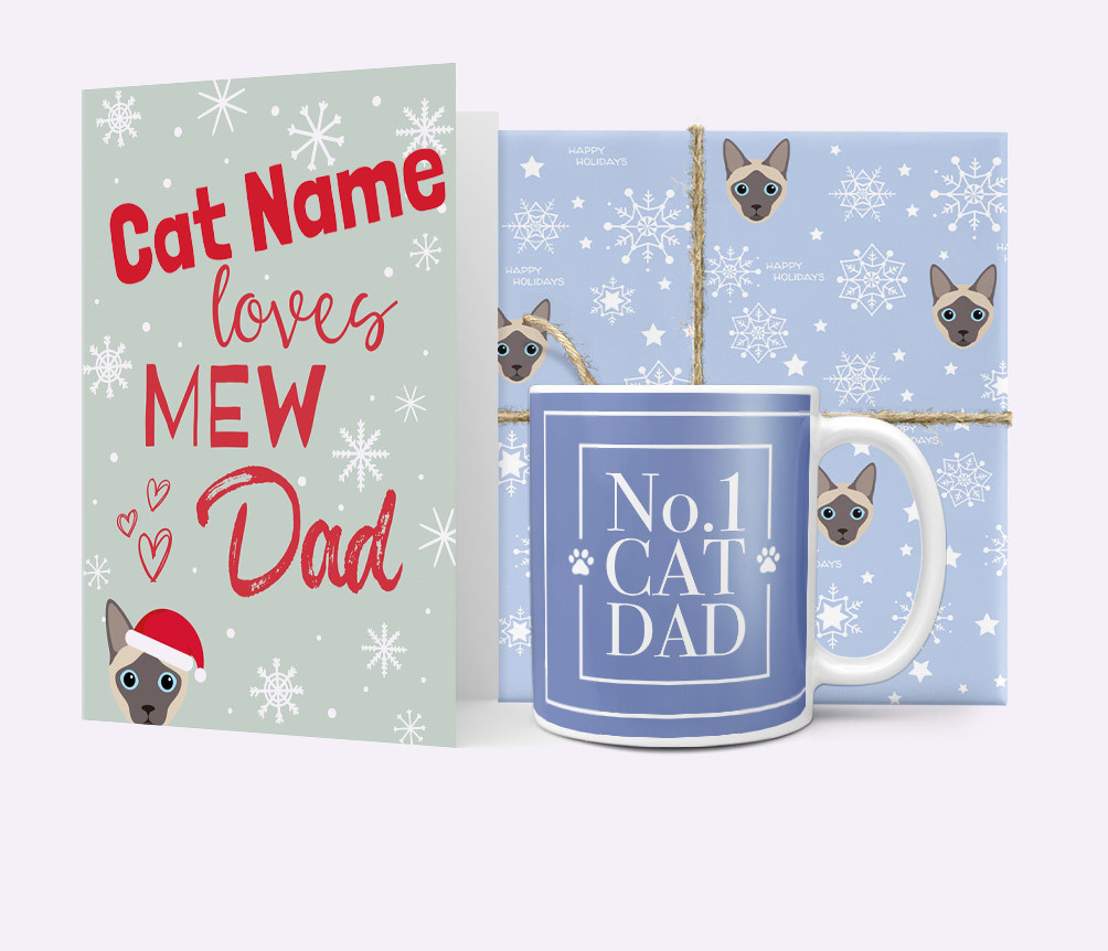 Christmas Cat Dad Gifts