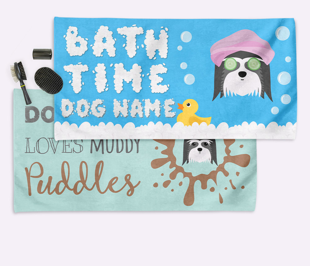 Personalised Dog Towels