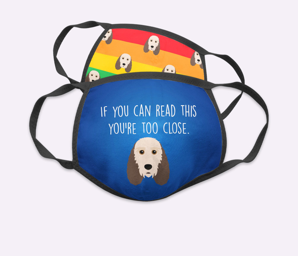 Personalized Face Masks featuring your dog