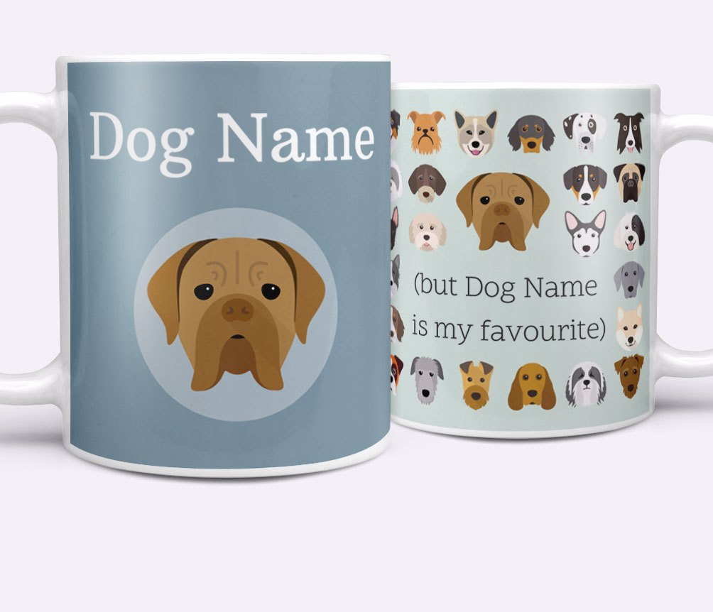 Personalised Dog Mugs