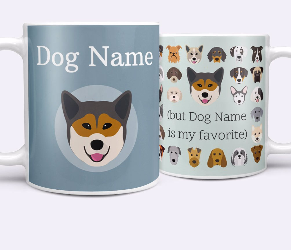 Personalized Dog Mugs