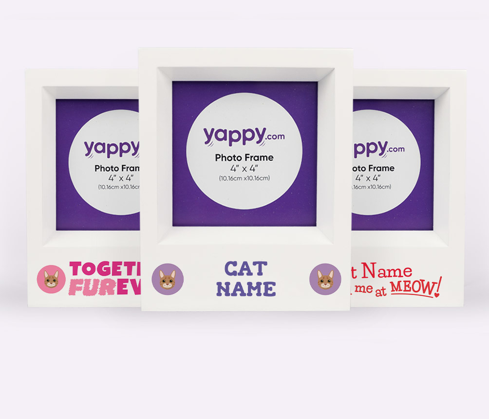 Personalised Cat Photo Frames