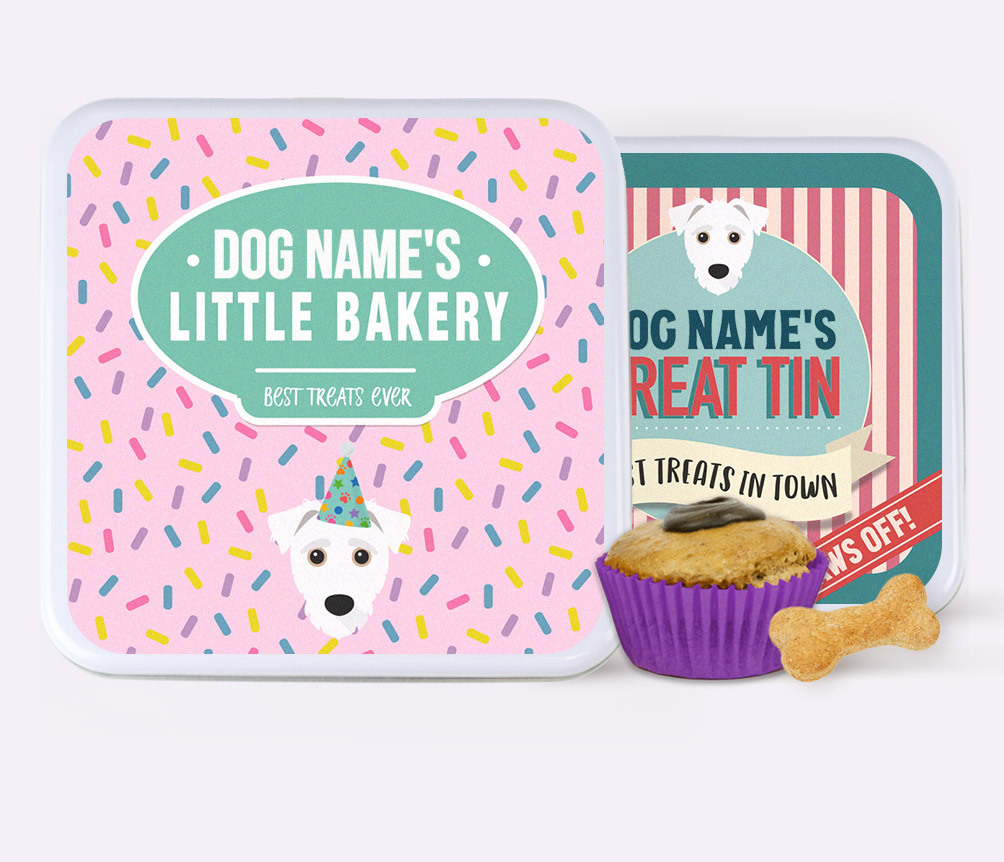 Personalised Dog Treat Tins & Baking