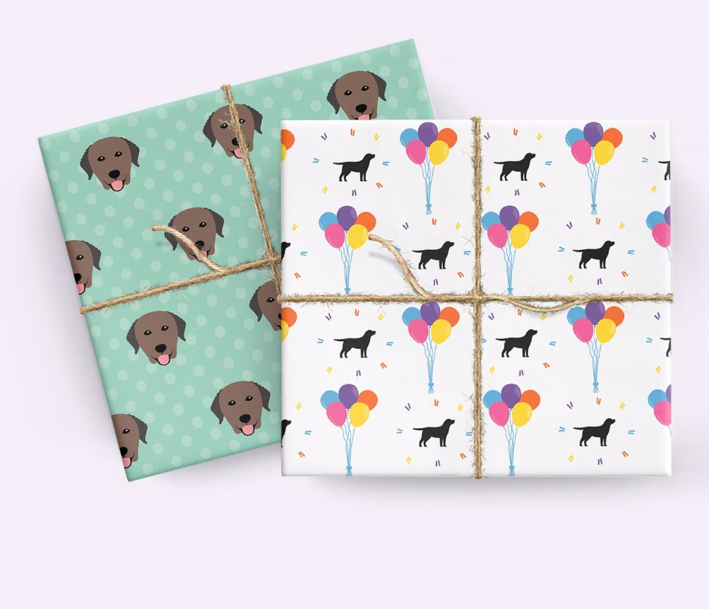Personalized Wrapping Paper