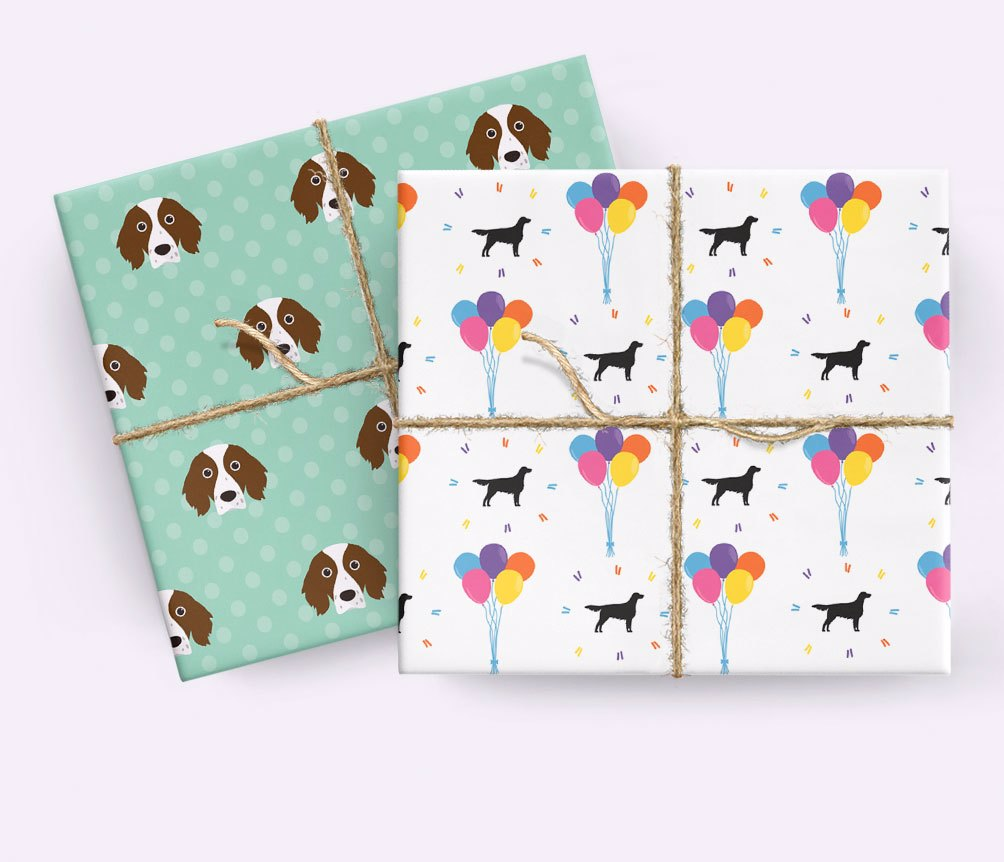 Personalised Dog Wrapping Paper