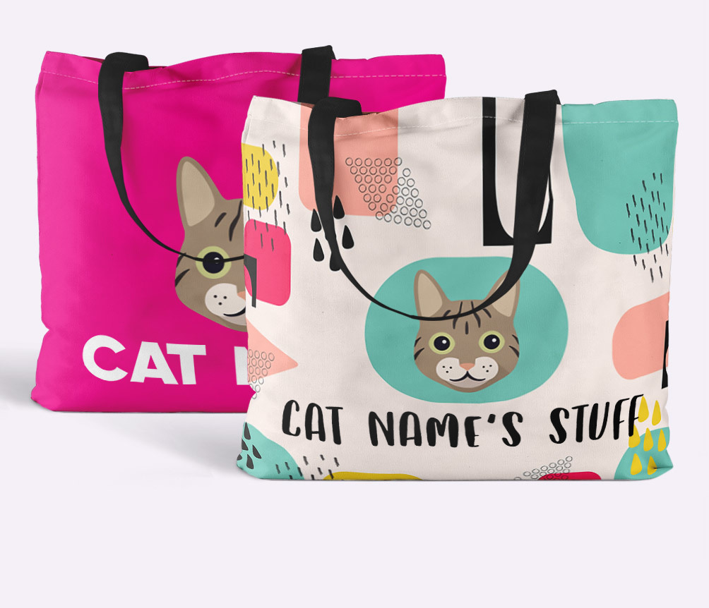 Personalised Cat Bags