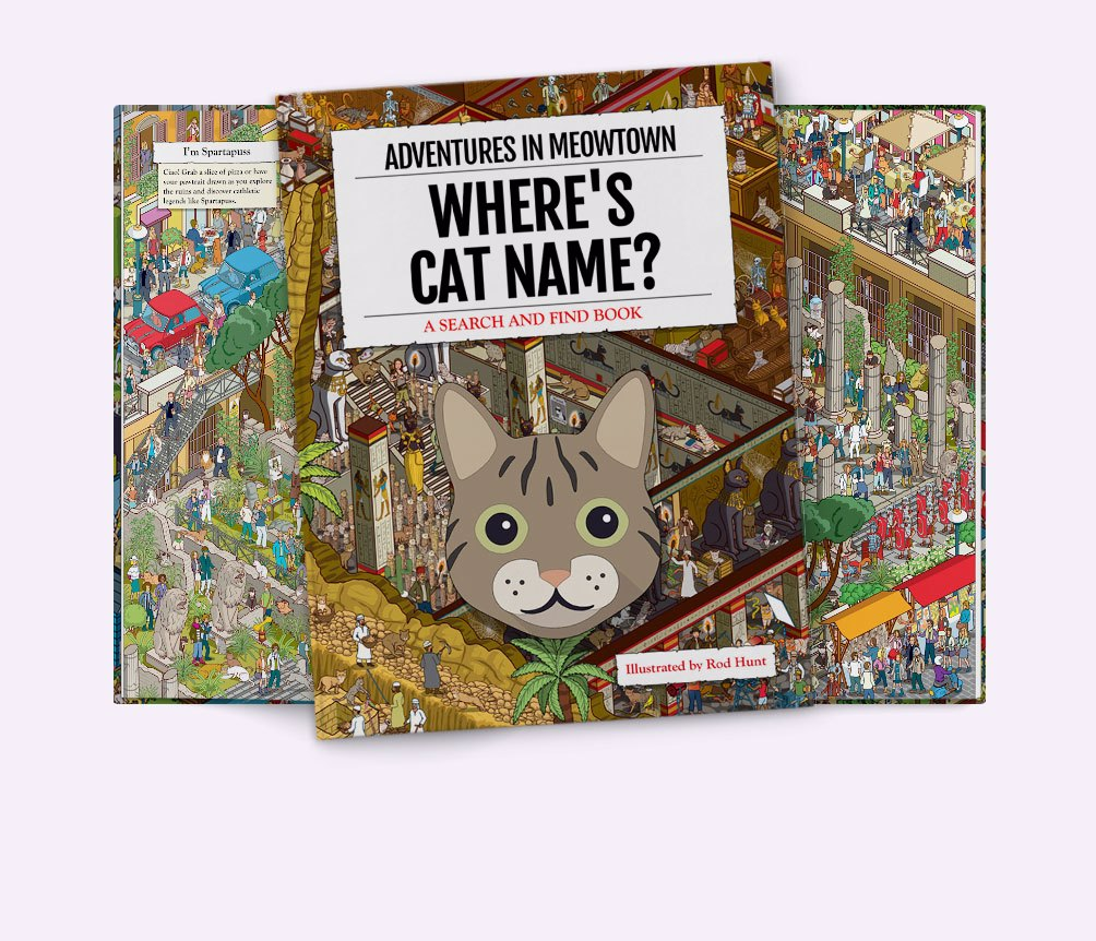Personalised Cat Books