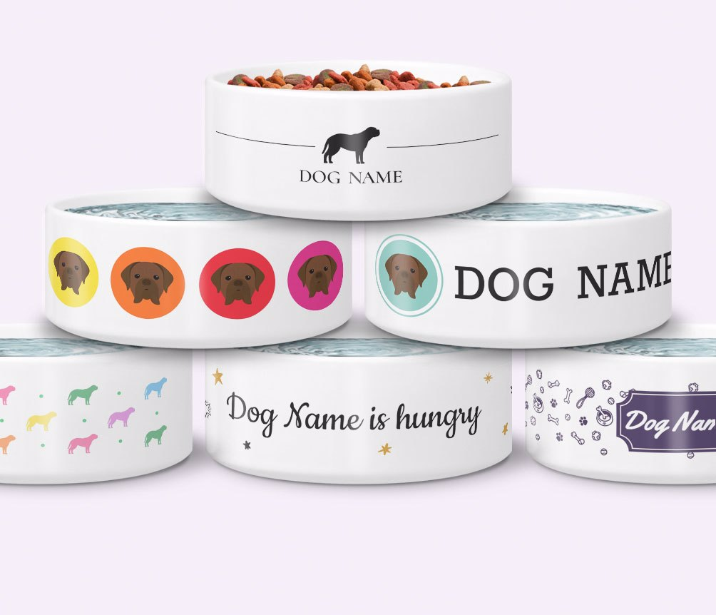 Personalised Dog Bowls