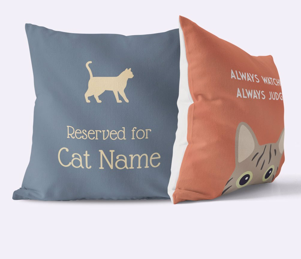 Personalised Cat Cushions