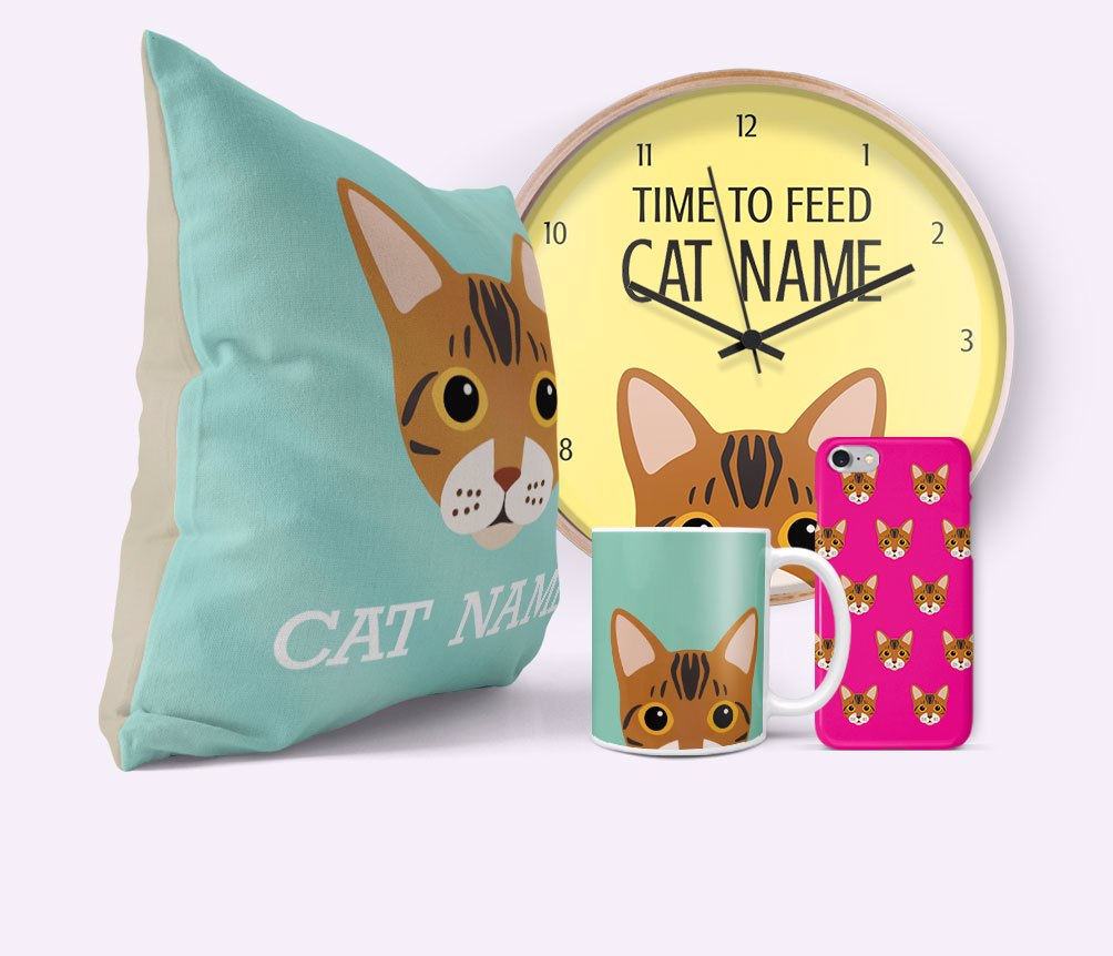 Personalised Cat Gifts