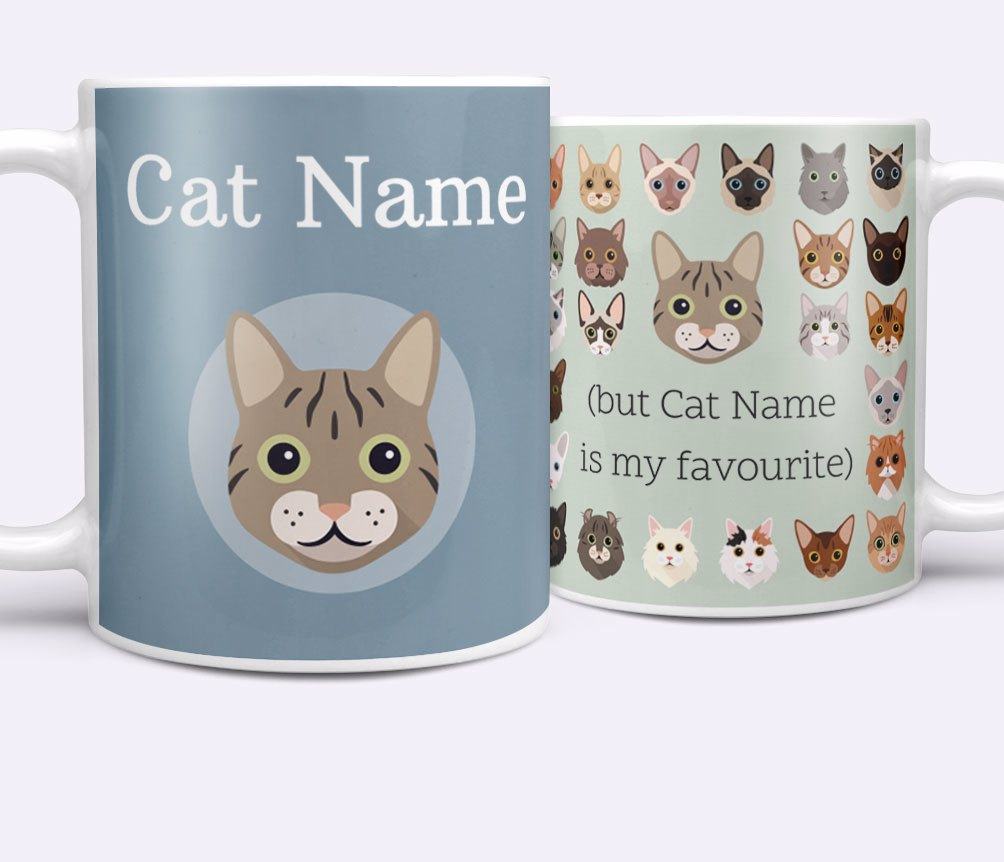 Personalised Cat Mugs