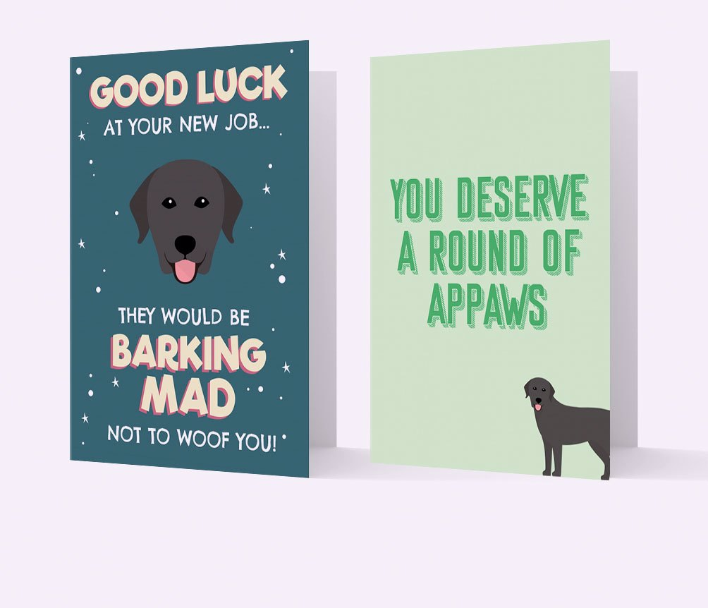 New Job & Leaving Cards